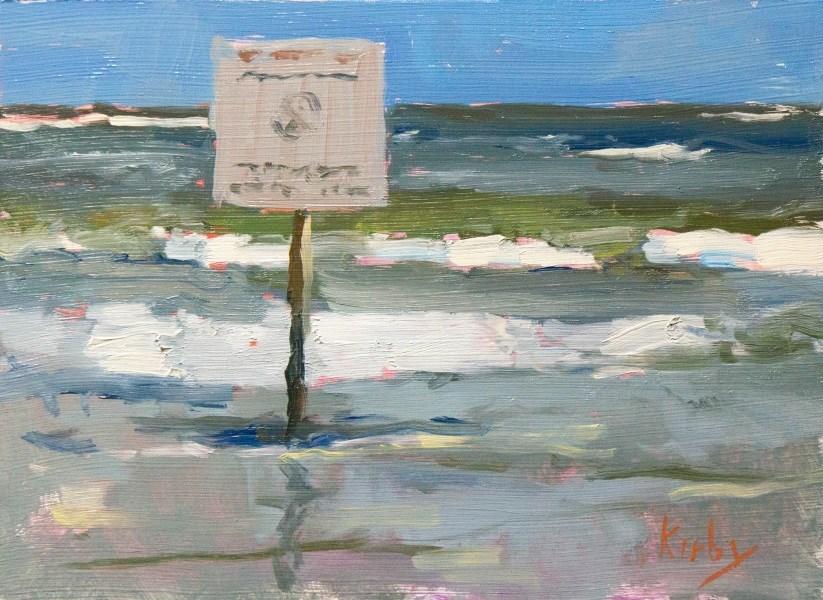 """""""A Sign"""" original fine art by Randall Cogburn"""