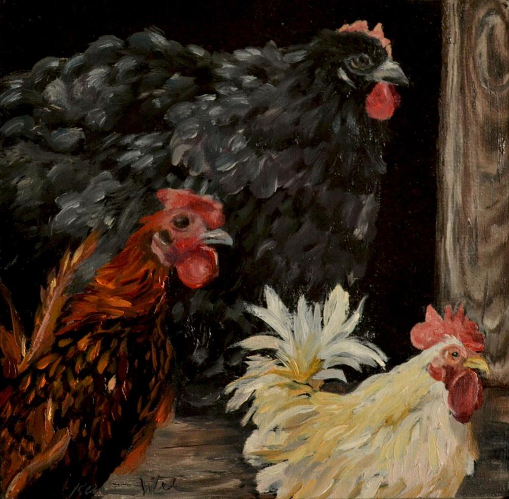 """Lookin' Good"" original fine art by Karen Weber"