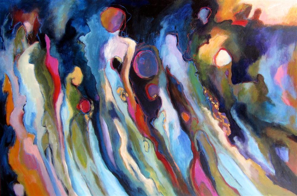 """Coloratura"" original fine art by Patricia MacDonald"