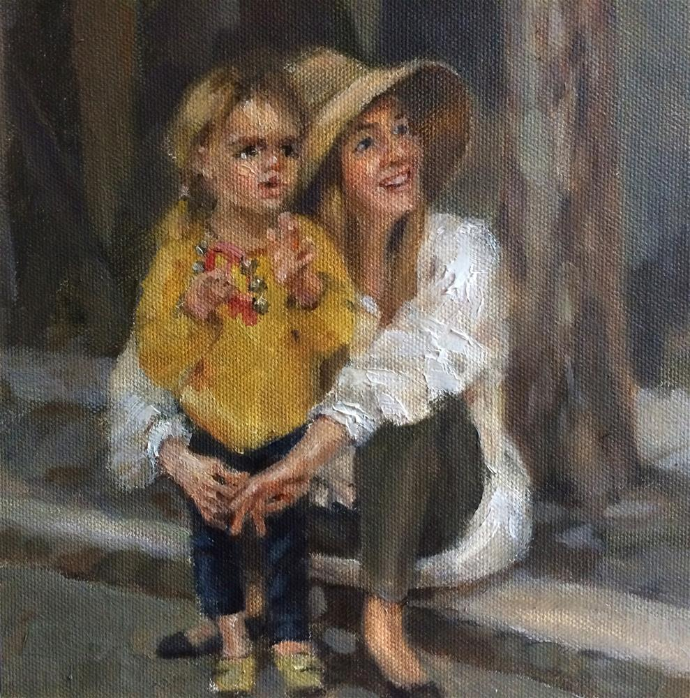 """Ballard Farmers Market#1"" original fine art by Anny Kong"