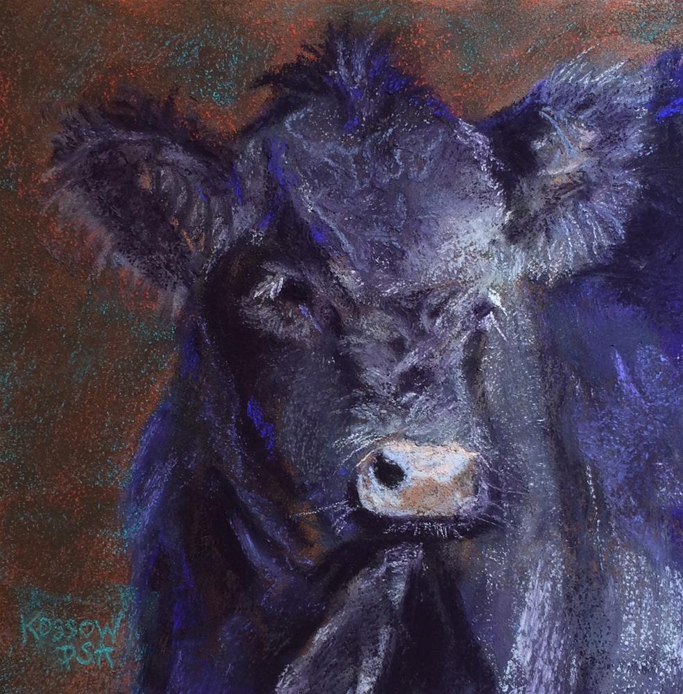"""Lois"" original fine art by Cristine Kossow"