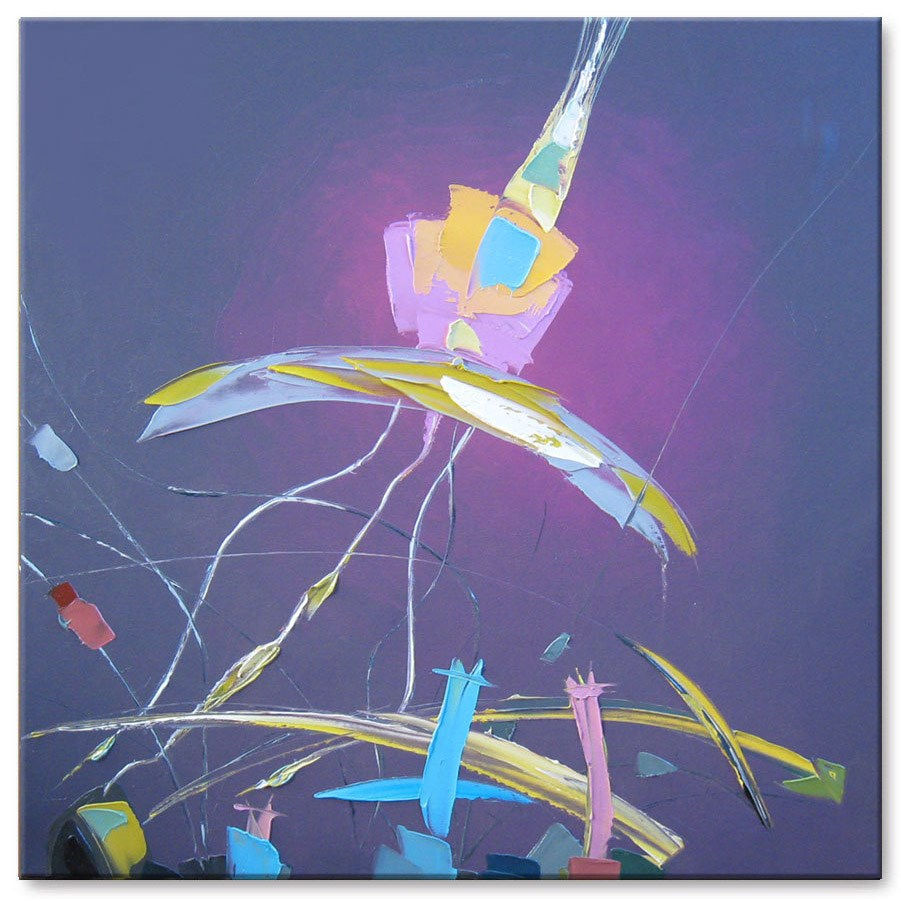 """Gravitation"" original fine art by Elena Lunetskaya"