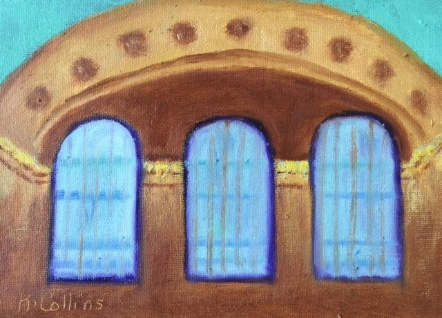 """Grand Central Station"" original fine art by Kathy Collins"