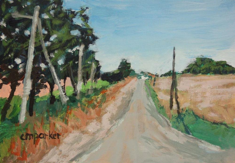 """""""Aix en Provence Roadtrip"""" original fine art by Christine Parker"""