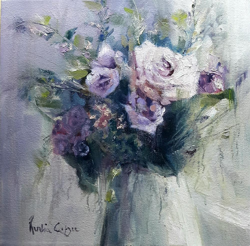 """Softly lavender"" original fine art by Rentia Coetzee"
