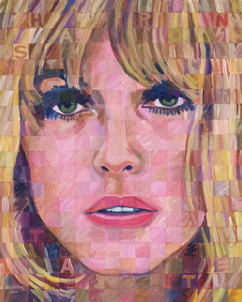 """Sharon Tate"" original fine art by Randal Huiskens"