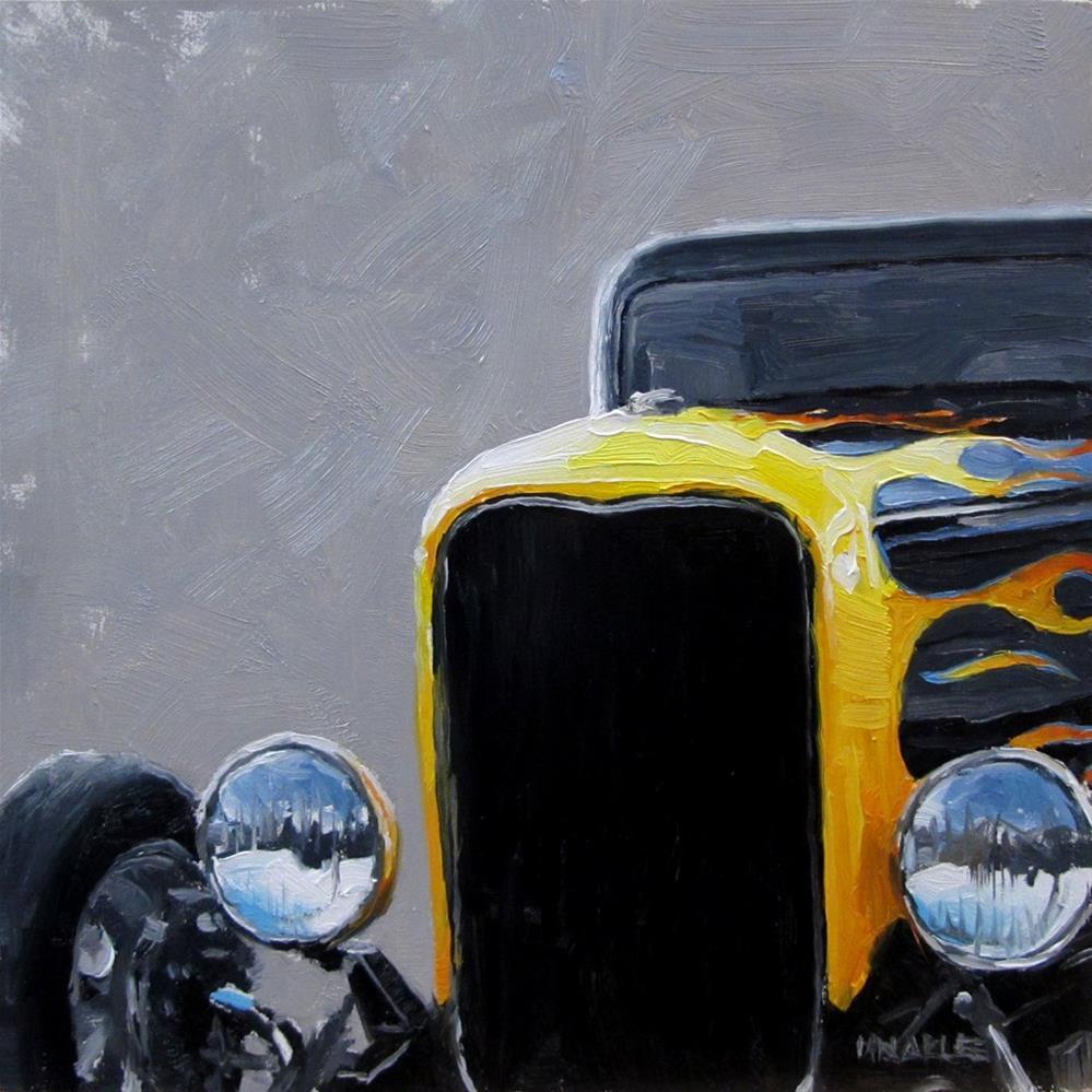 """Hot Rod"" original fine art by Michael Naples"