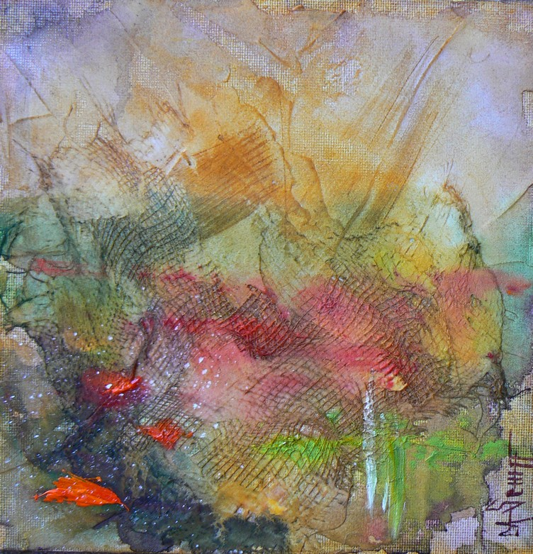 """Field of Poppies"" original fine art by Carol Schiff"