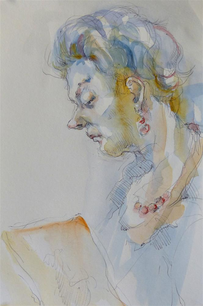 """sketchbook10"" original fine art by Katya Minkina"