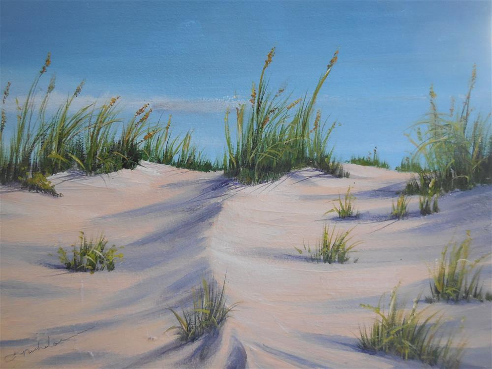 """Over the Dunes"" original fine art by Terri Nicholson"