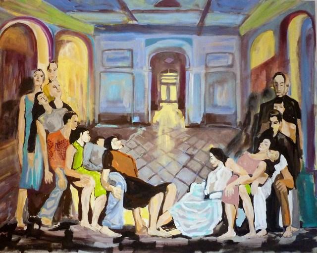 """""""Zeitgenössischer Tanz /  Contemporary dance"""" original fine art by Mila Plaickner"""