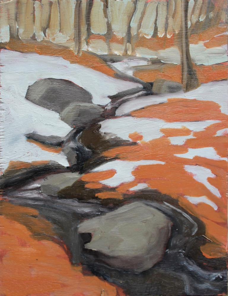 """Spring Thaw"" original fine art by Gilles Lafond"