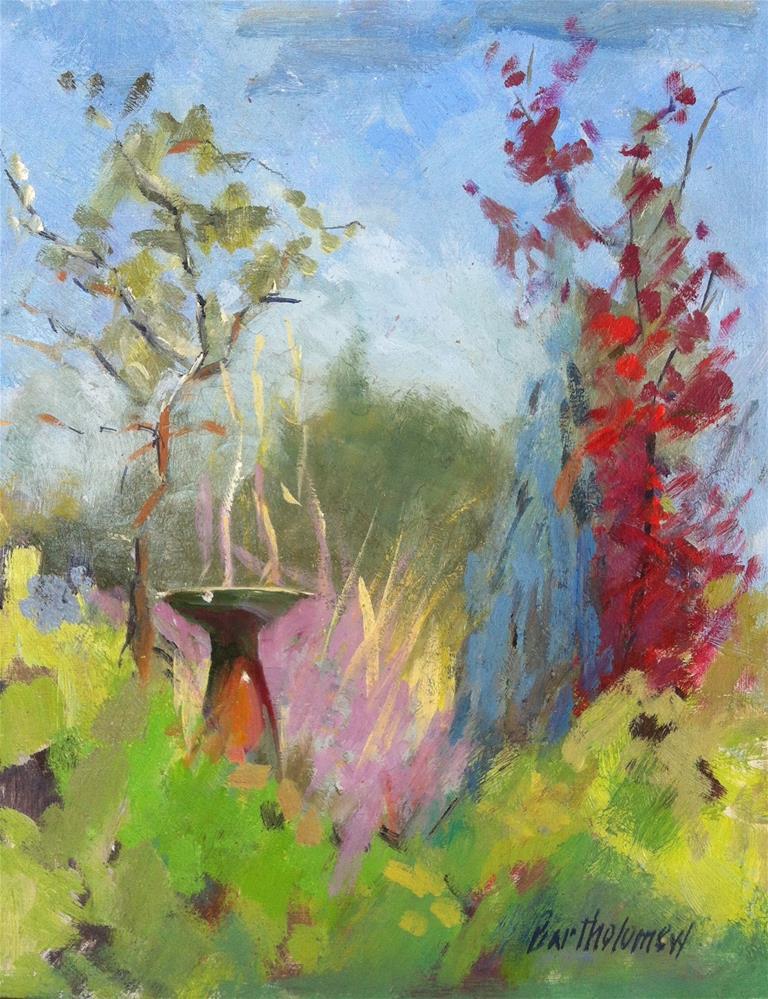 """Arlington Gardens, Pasadena California"" original fine art by Karla Bartholomew"