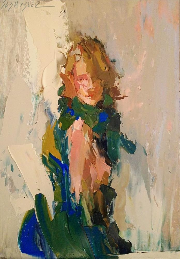 """Wrapped in Manganese by Sally Shisler"" original fine art by Sally Shisler"
