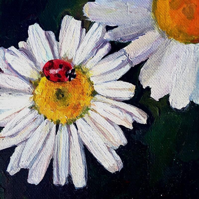 """""""Luck Be a Lady"""" original fine art by Nava Judith"""