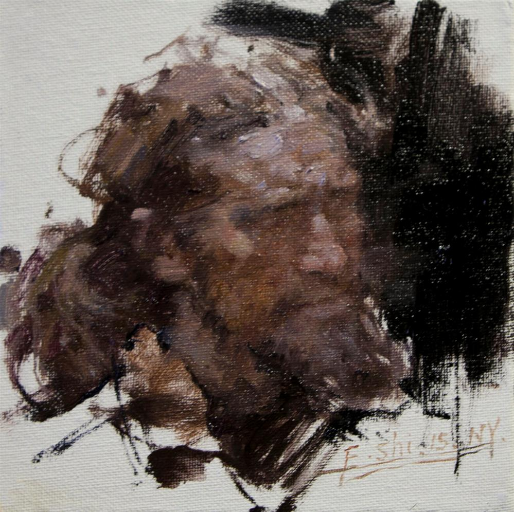 """Portrait"" original fine art by fengshi jin"