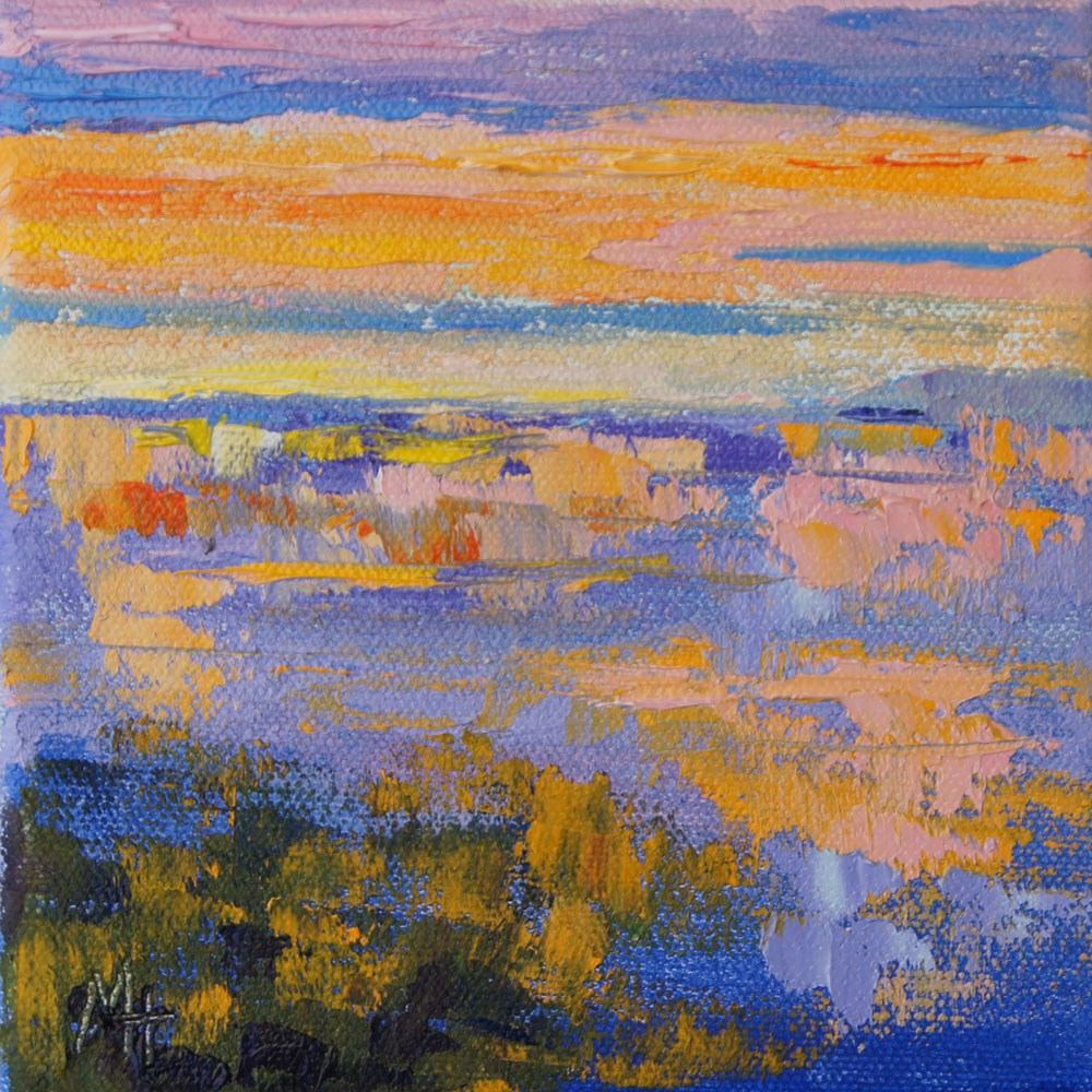 """Namibia Impressions 16 - Sea Fog 2"" original fine art by Marion Hedger"