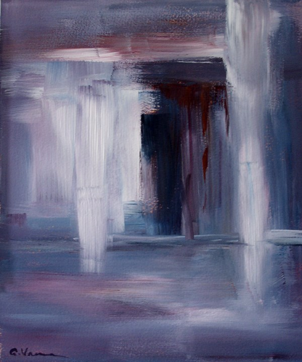 """Day 3 - Doorway"" original fine art by Anna Vreman"