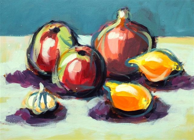 """Still Life"" original fine art by Ewa Kunicka"