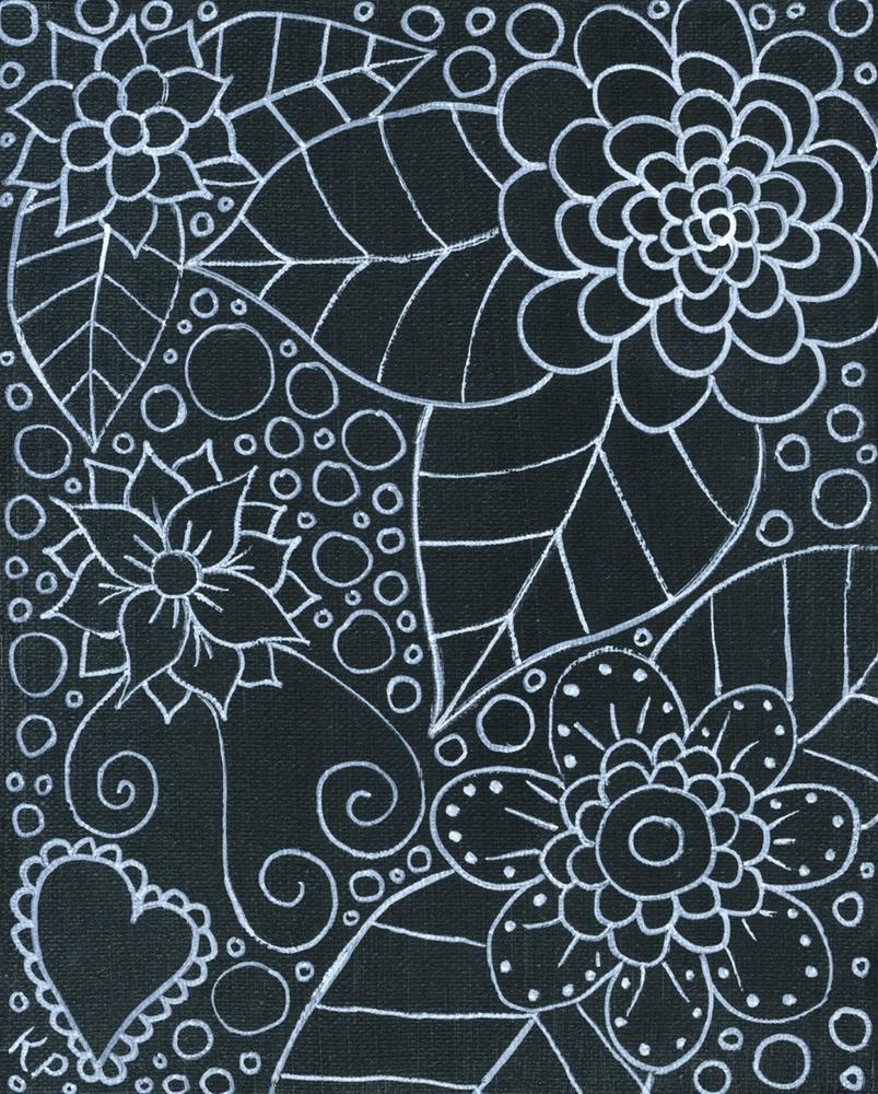 """Doodling"" original fine art by Kali Parsons"