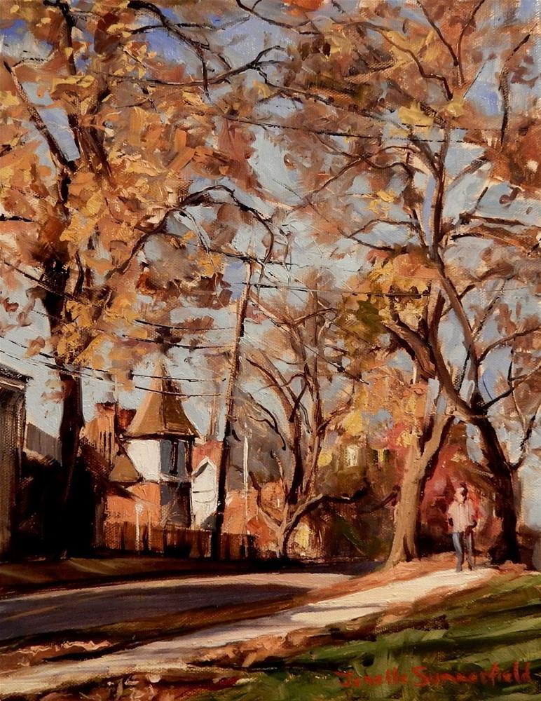"""""""South Sixth Street"""" original fine art by Jonelle Summerfield"""
