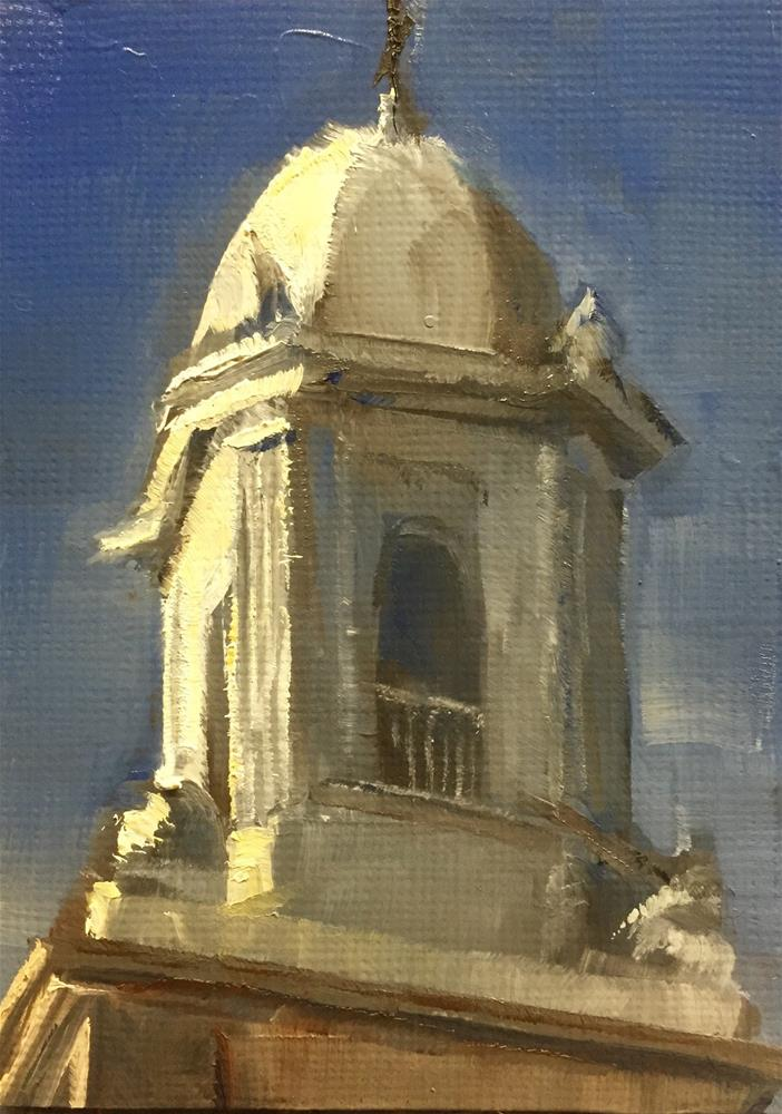 """Steeple"" original fine art by Gary Bruton"