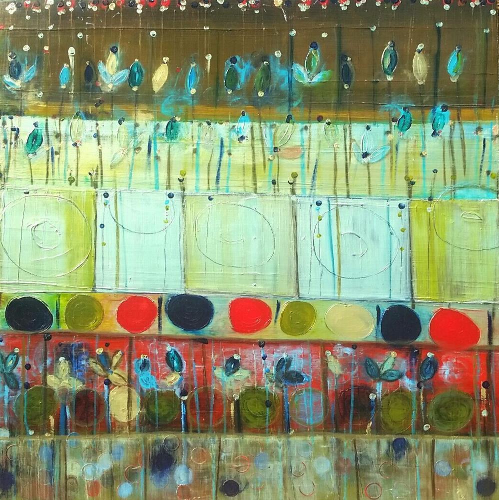 """Winter Blooms"" original fine art by Christy Tremblay"