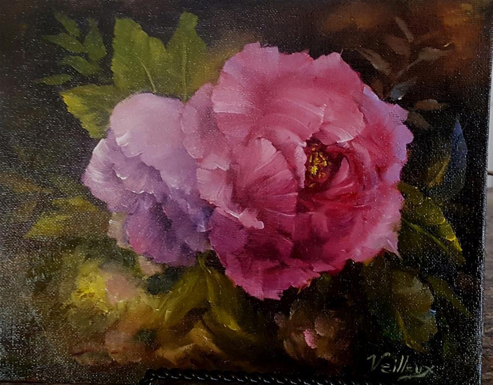 """Blooms at Night"" original fine art by Jessica Veilleux"