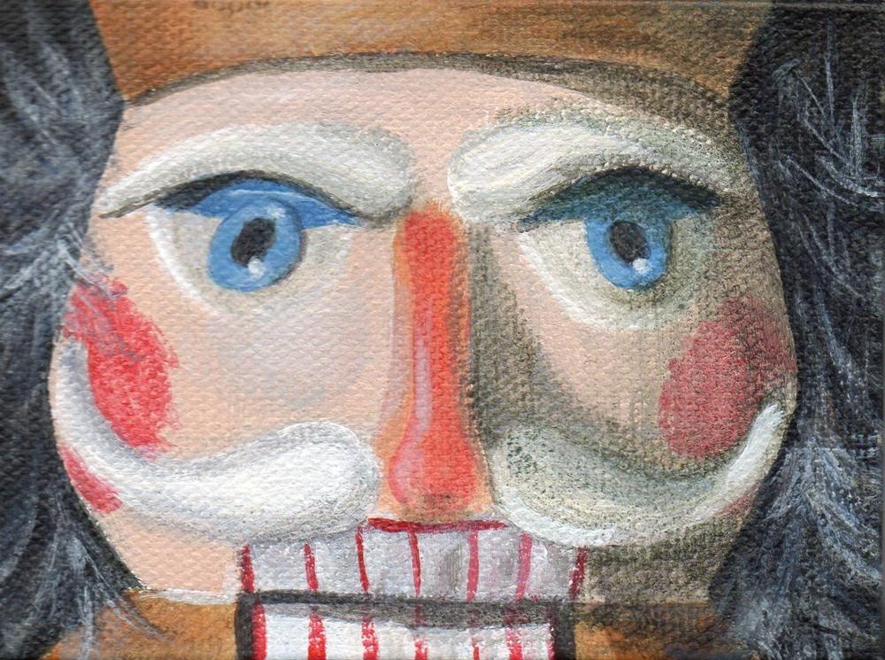 """Steady Gaze"" original fine art by Debbie Shirley"