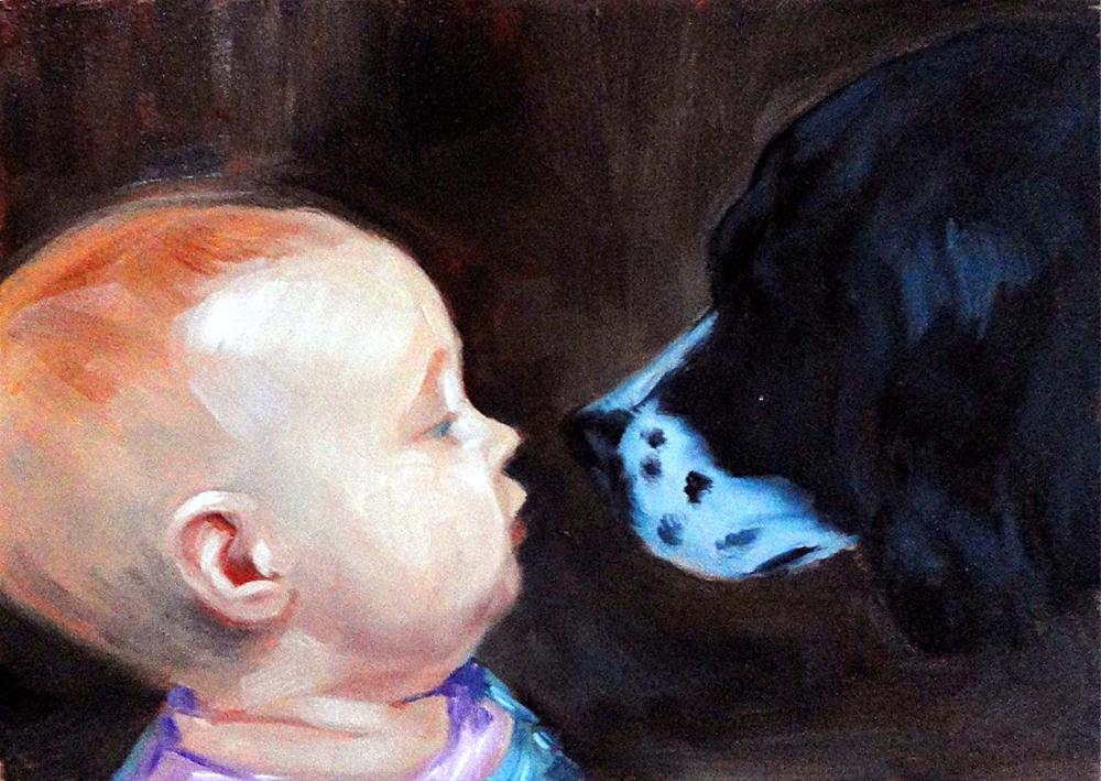 """Nose To Nose"" original fine art by Cietha Wilson"