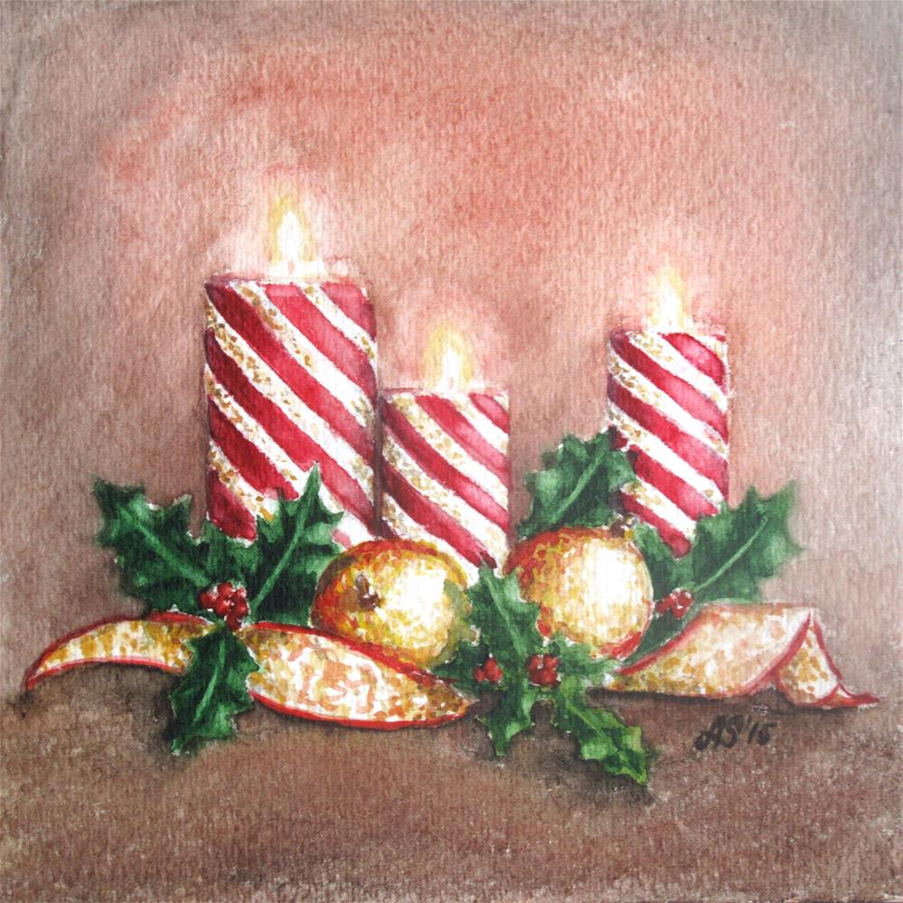 """Holiday season"" original fine art by Anna Starkova"