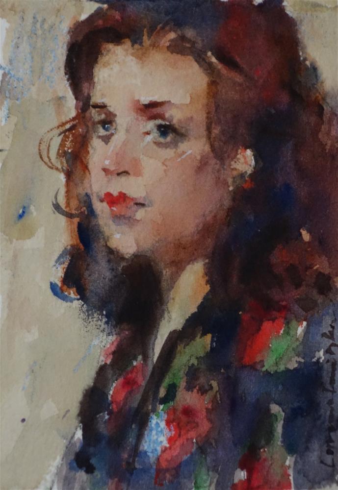 """""""Whistful"""" original fine art by Lorraine Lewitzka"""