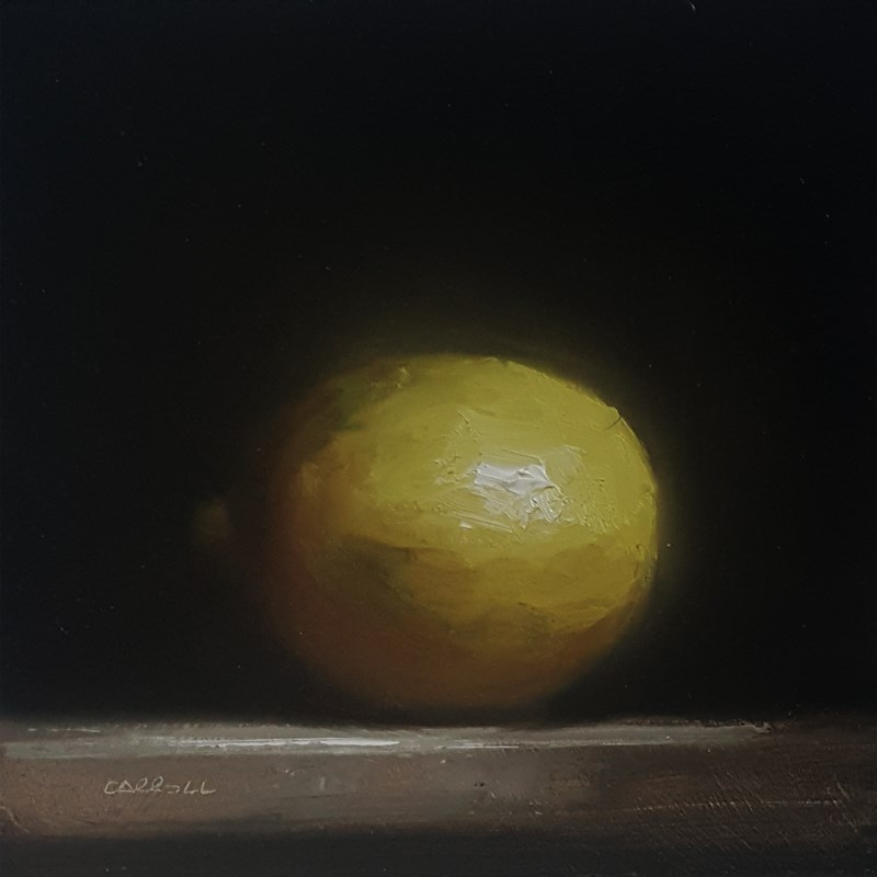 """Lemon"" original fine art by Neil Carroll"