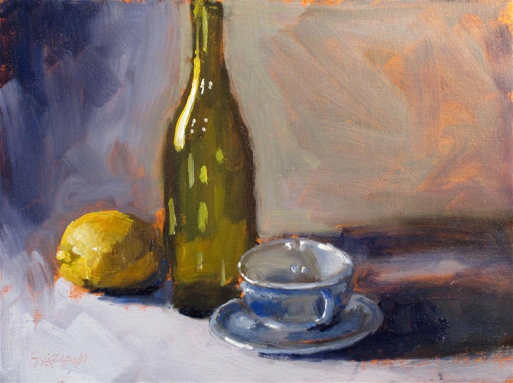 """""""bottle and company"""" original fine art by Dan Graziano"""