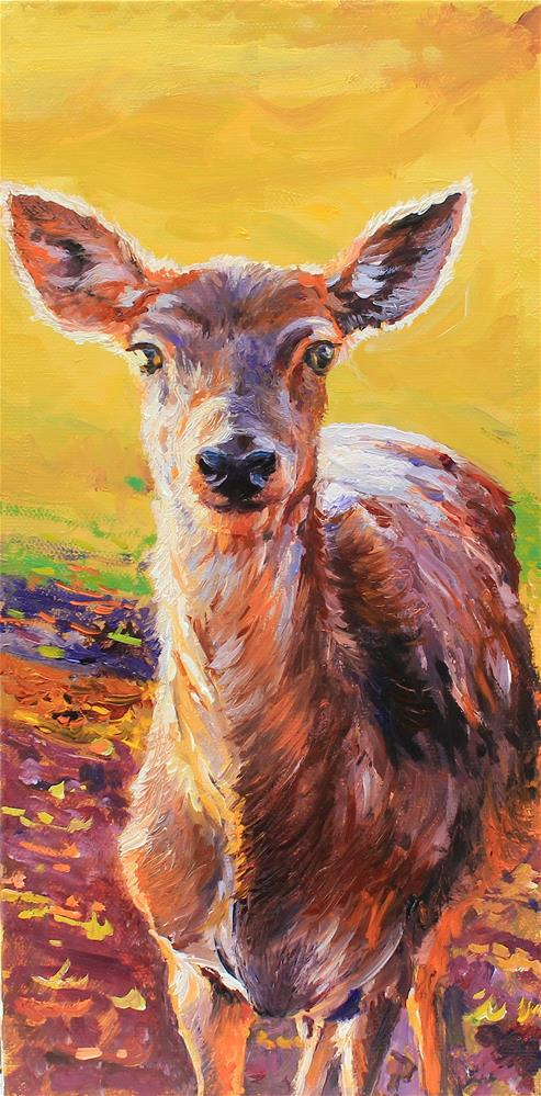 """Deer"" original fine art by Marco Vazquez"