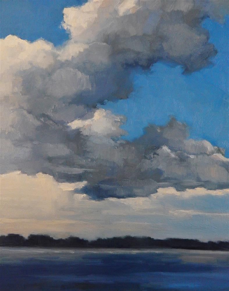 """Breaking Clouds"" original fine art by Lisa Kyle"