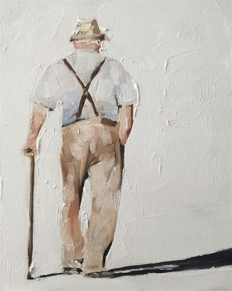 """""""Old Man"""" original fine art by James Coates"""