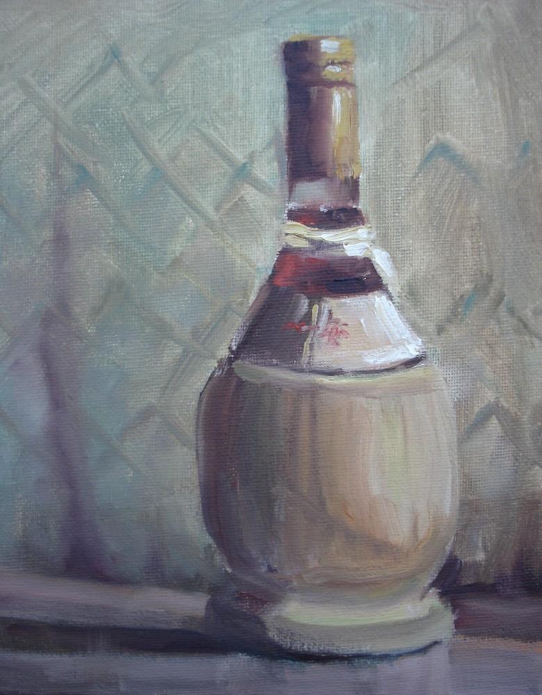 Vino original fine art by Margie Whittington