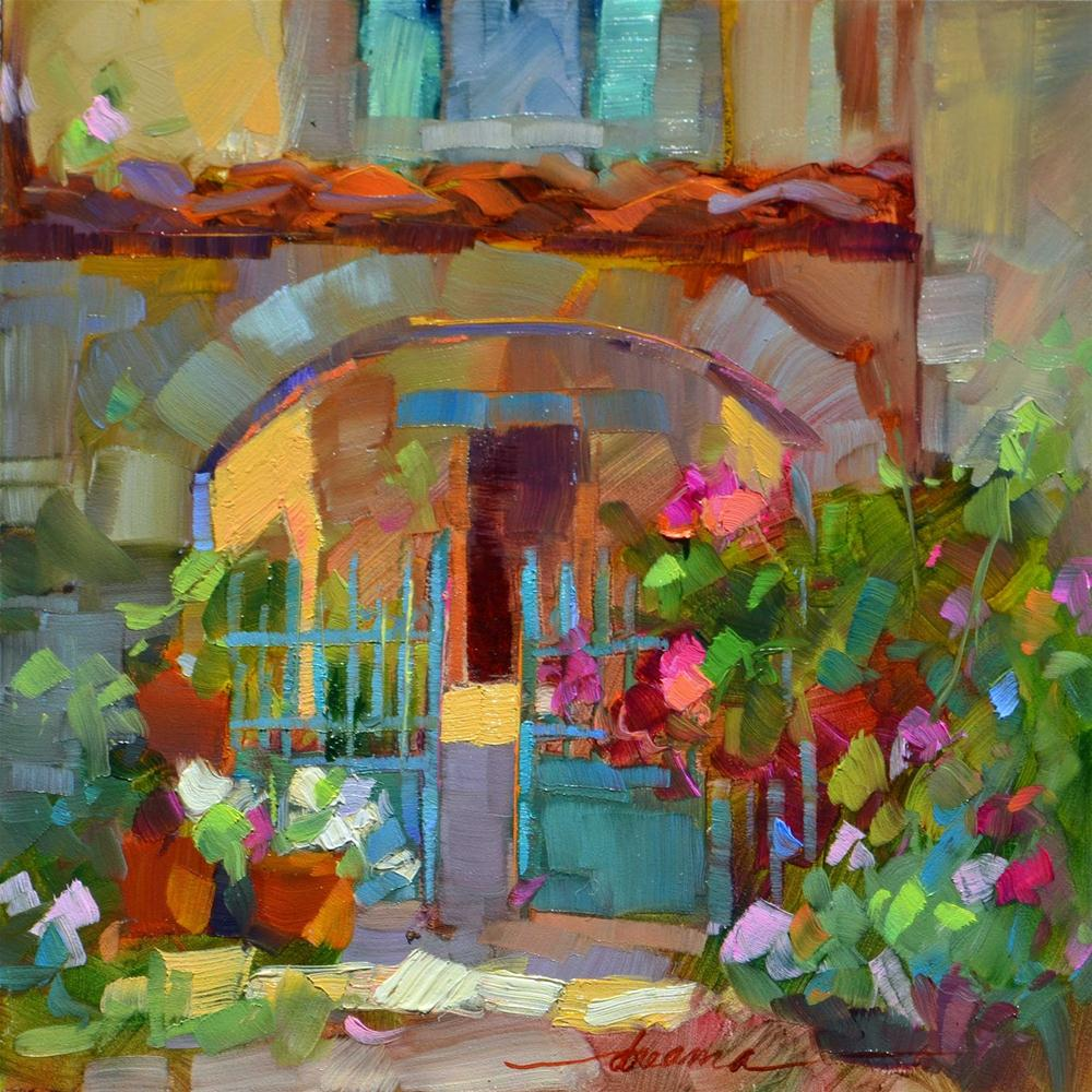 """""""Invitation to Beauty"""" original fine art by Dreama Tolle Perry"""