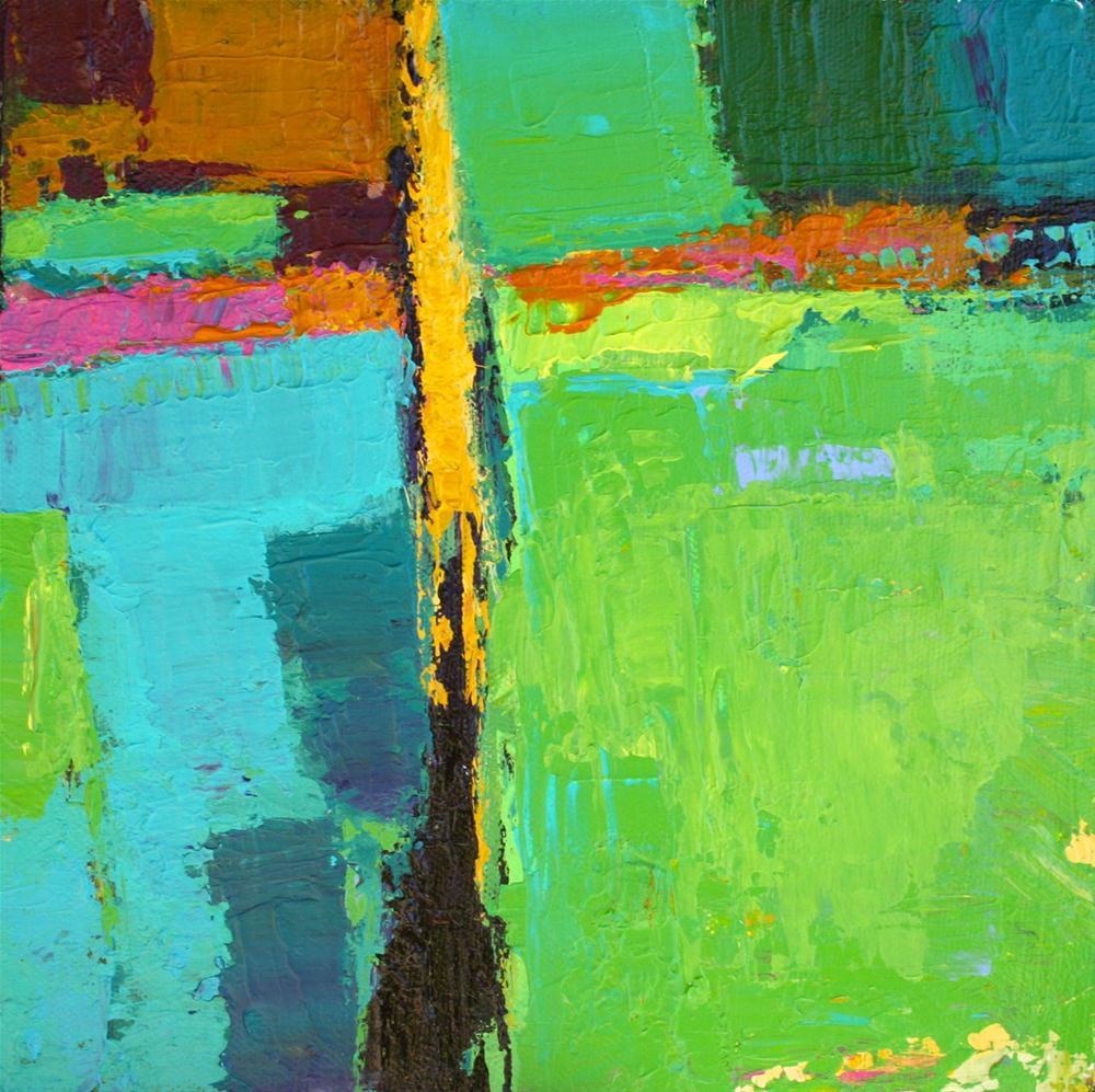 """""""Touche"""" original fine art by Elizabeth Chapman"""