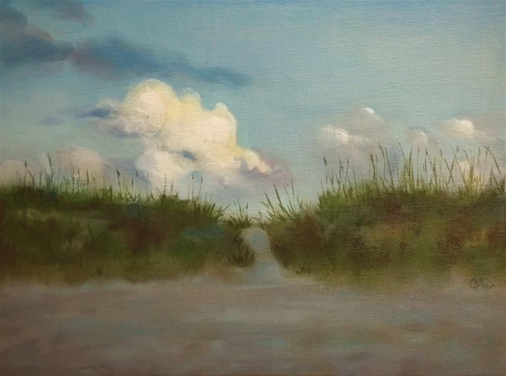 """Avon Morning"" original fine art by Christine Angelotta Dixon"