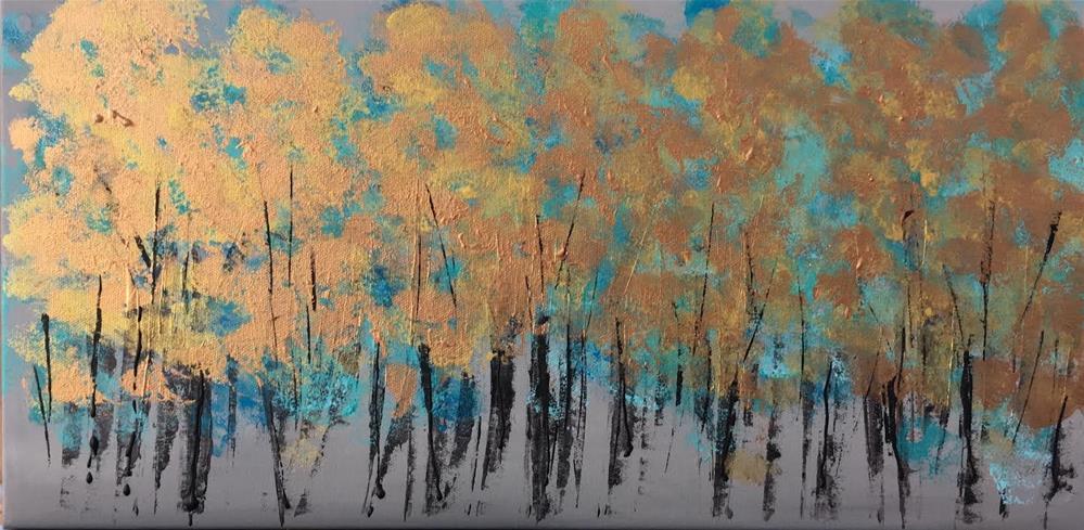 """""""Mein Wald  My forest"""" original fine art by Astrid Buchhammer"""