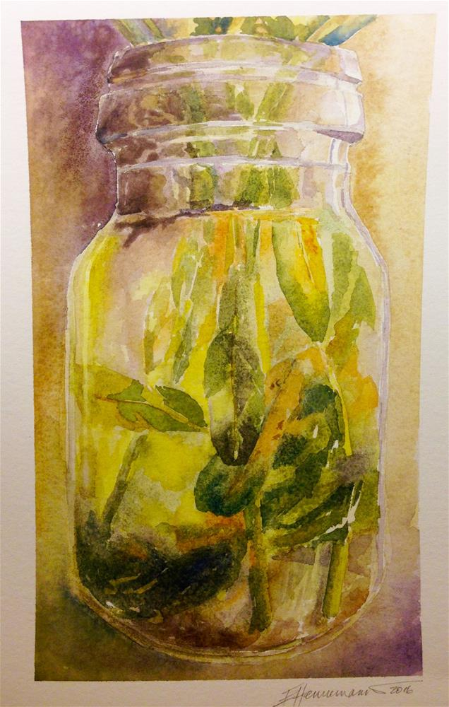 """Jar"" original fine art by Eileen Hennemann"