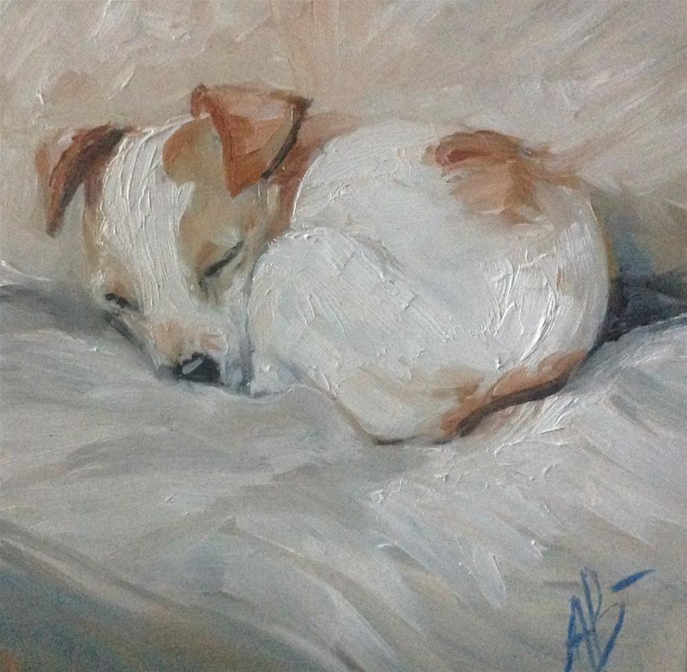 """Cozy time"" original fine art by Annette Balesteri"