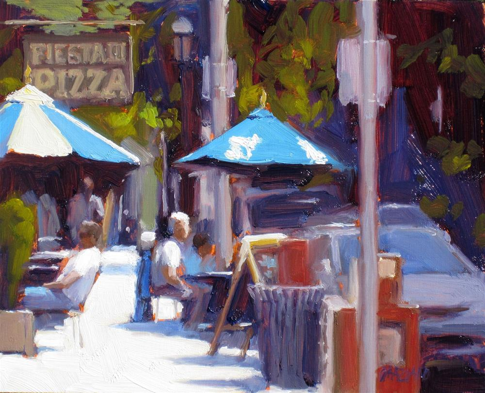 """summer in the city"" original fine art by Dan Graziano"