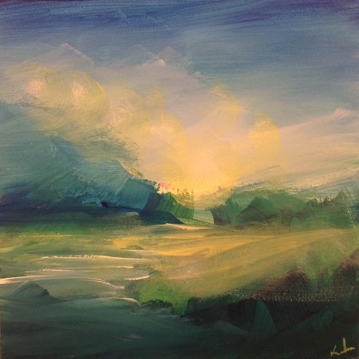 """Always Near"" original fine art by David Kuhn"