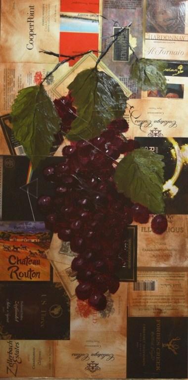 """Purple Grapes"" original fine art by Mary Datum"