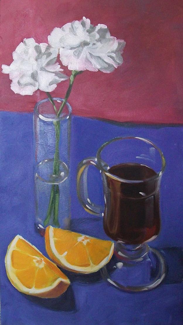 """good morning"" original fine art by Brandi Bowman"