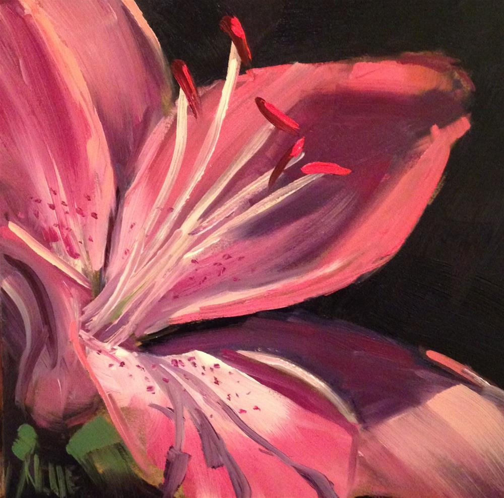 """#189 Broadway Lily"" original fine art by Patty Voje"