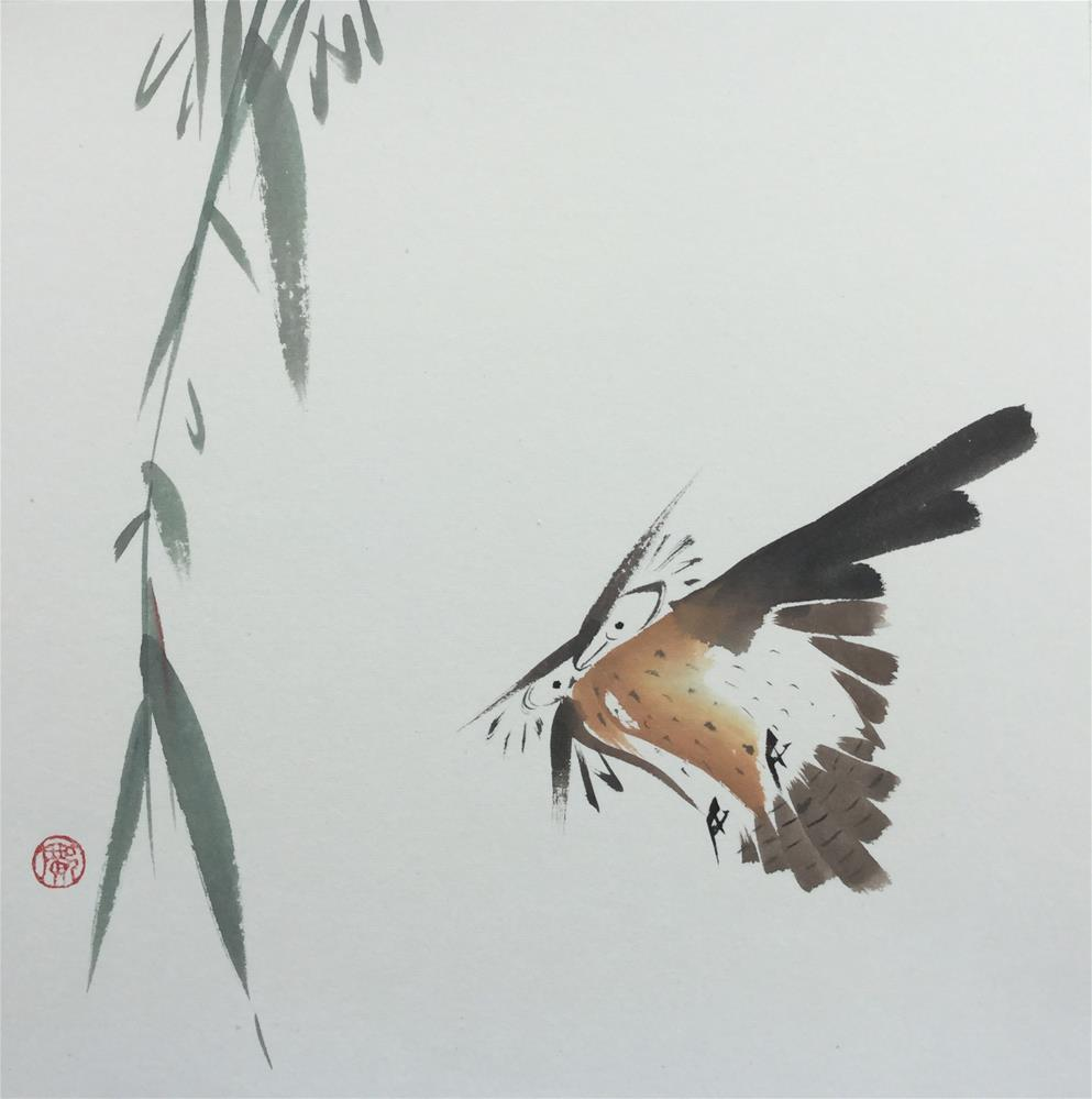 """Owl"" original fine art by R kwong"